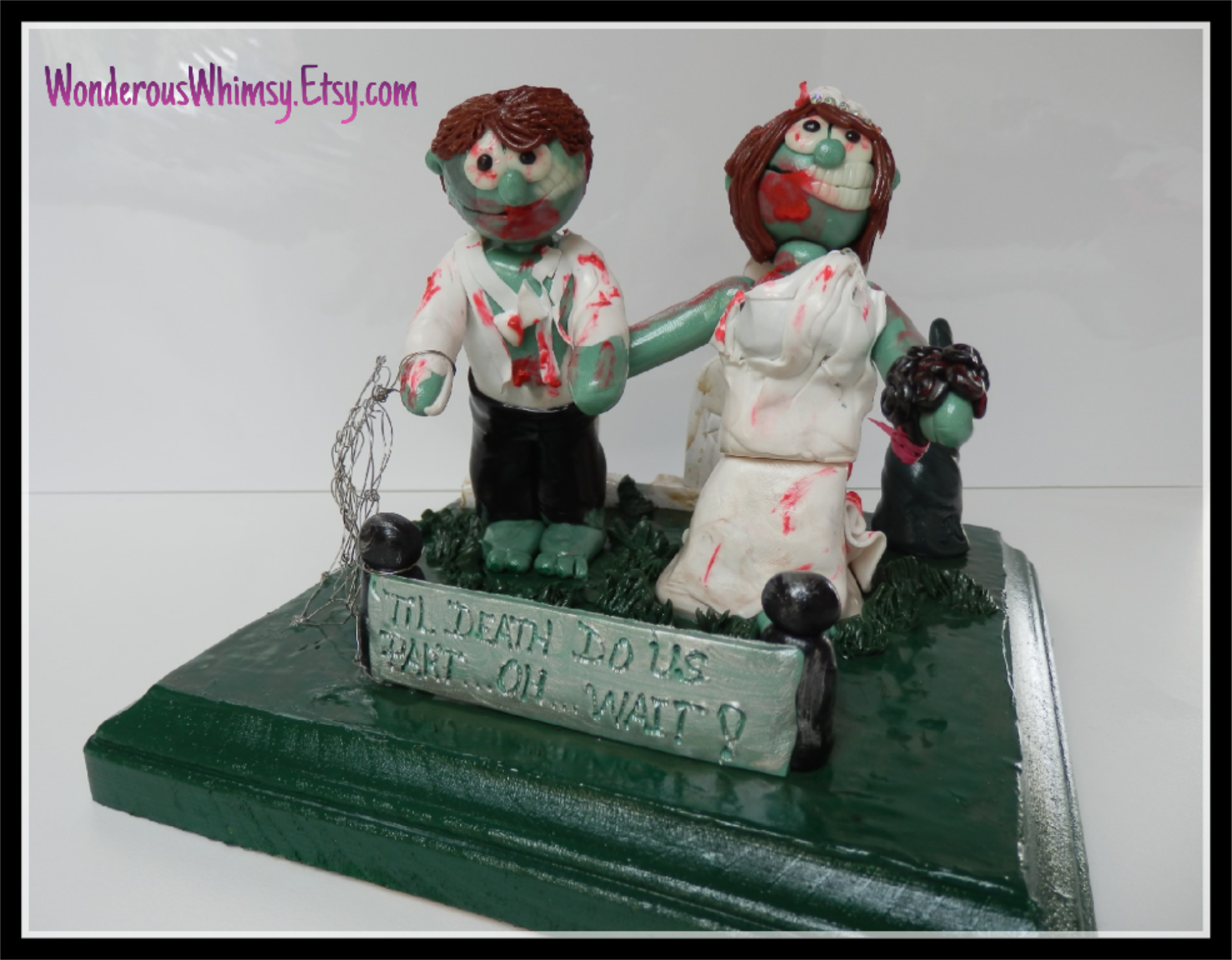 cartoon wedding cake toppers and groom wedding cake topper figurine 12421